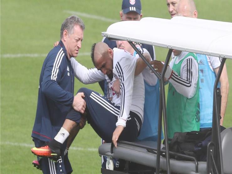 إصابة نجم بايرن ميونيخ قبل مواجهة ريال مدريد
