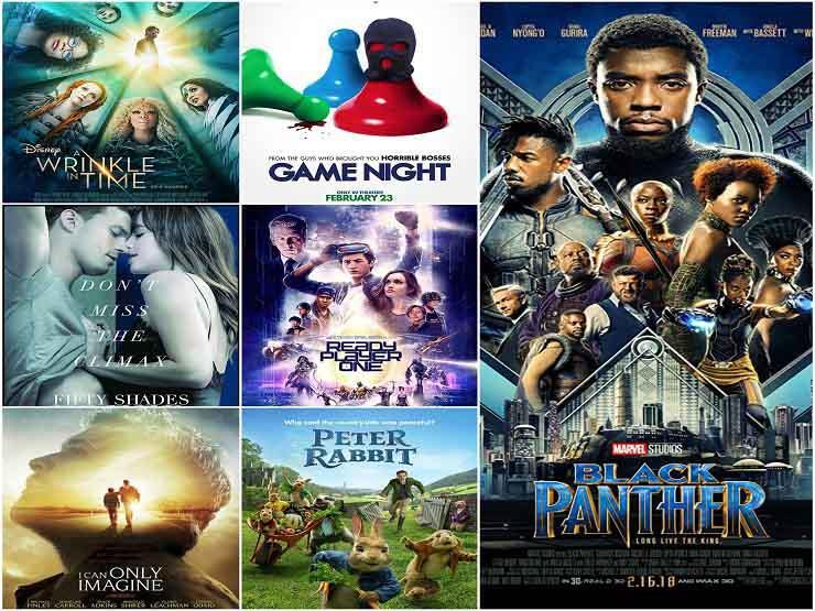 """تعرف علي قائمة الأفلام الأكثر تحقيقا للإيرادات في 2018 ..""""Black Panther""""في الصدارة"""