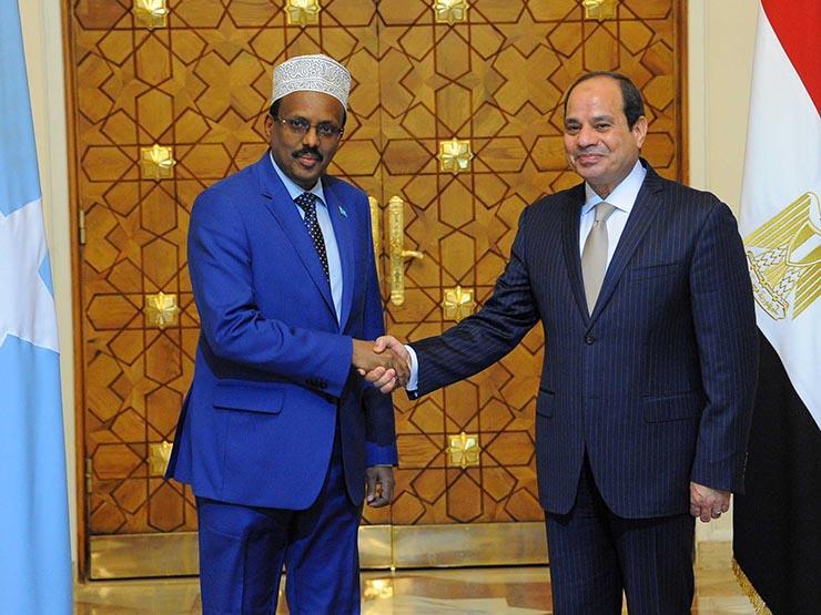 السيسي لرئيس الصومال: ندعمكم في جهود بناء مؤسسات الدولة وترس...مصراوى