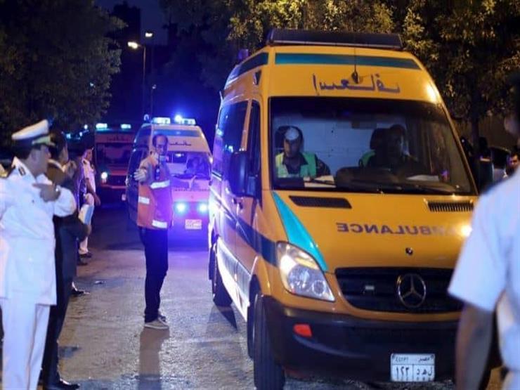 الصحة تدفع بـ 8 سيارات إسعاف لموقع انفجار مستودع بوتاجاز أسيوط