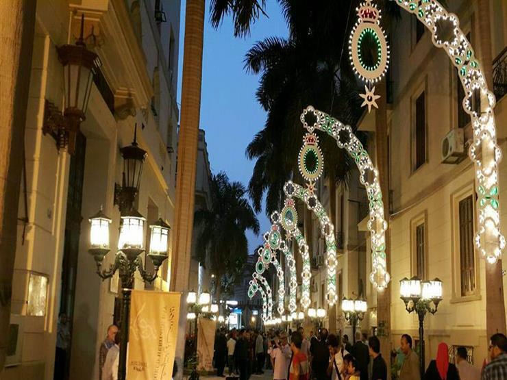 الصوت والضوء  تساهم في مجد القاهرة الخديوية بإضاءة فندق كوز...مصراوى