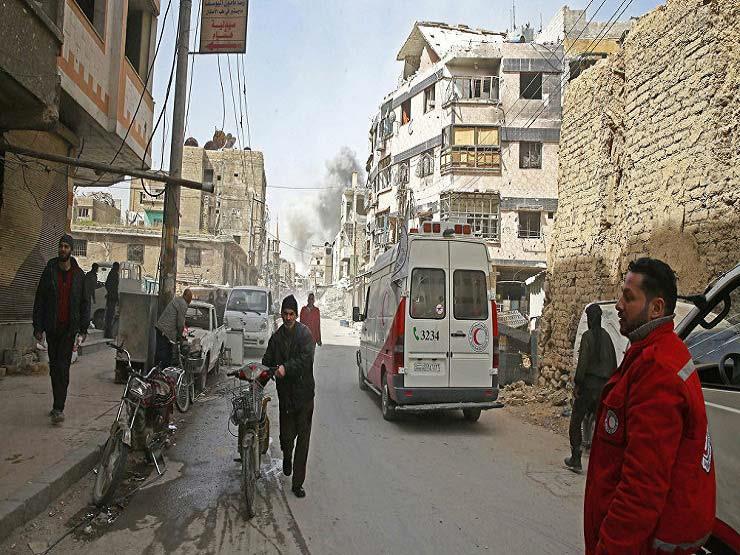 خبراء منظمة حظر الأسلحة الكيميائية يدخلون مدينة دوما السورية