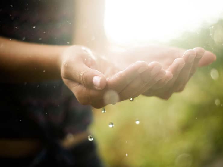 دعاء الرسول عند المطر والبرق والرعد