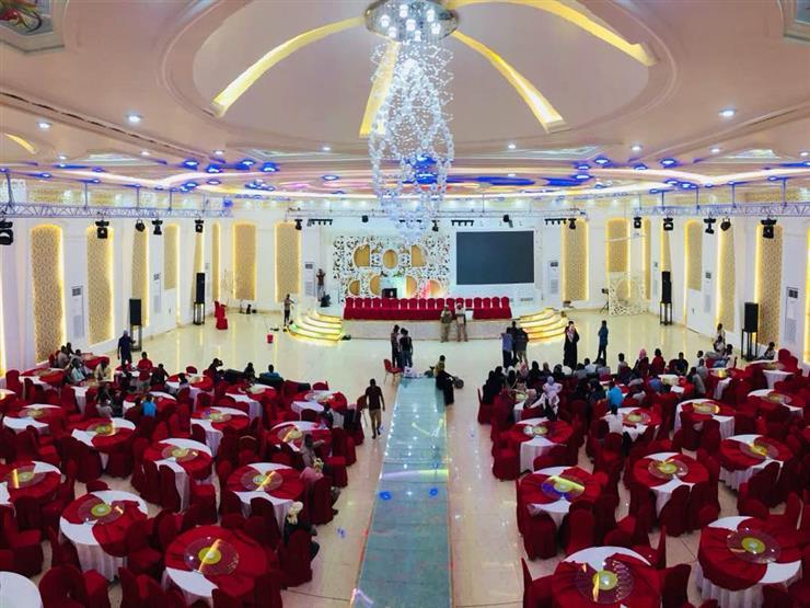 """يضم 200 عريس وعروس .. تفاصيل أول زواج جماعي في """"عدن"""" باليمن"""