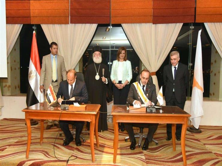 توقيع اتفاقية توأمة بين الإسكندرية وقبرص للتعاون السياحي