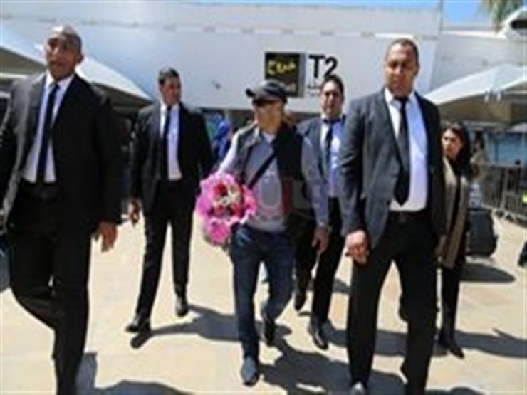 بالصور.. أحمد السقا يصل المغرب لتكريمه بـ كازا آرت ...مصراوى