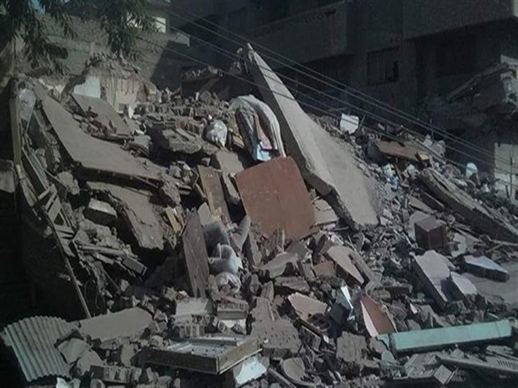 الصحة: 4 مصابين في انهيار بلكونة بالسيدة زينب ...مصراوى