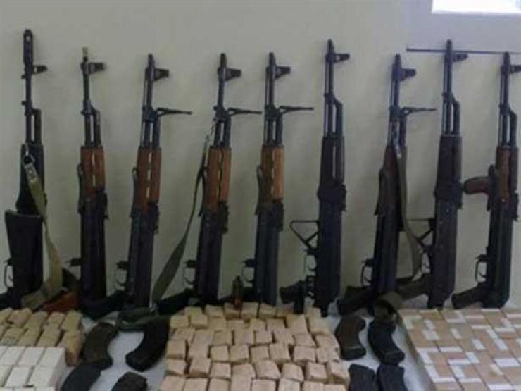 أمن الجيزة يضبط 47 تاجر مخدرات و16 قطعة سلاح و566 طلقة...مصراوى