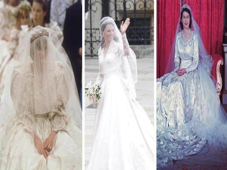 فيديو جراف- فساتين زفاف سيدات القصر البريطاني على مدار 4 أجيال