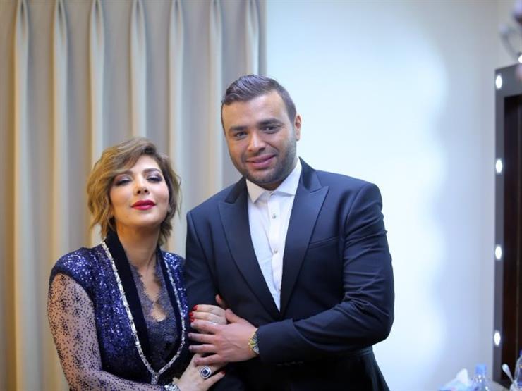"""بالفيديو..  رامي صبري يغني لـ أصالة"""" في عيد ميلادها"""