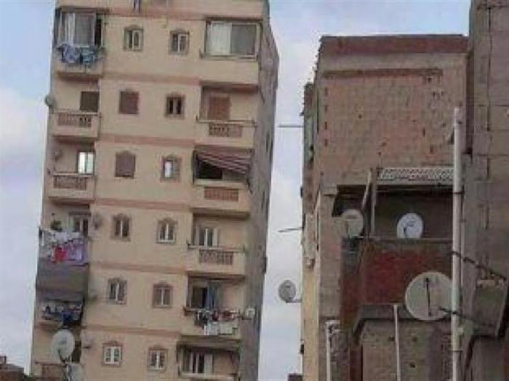 رئيس حي شرق إسكندرية: سنخلي العقار المائل بالقوة في حالة واحدة