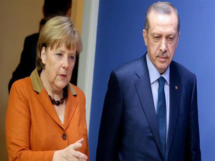 أردوغان يبحث هاتفيا مع ميركل وبوتين التوترات في غزة