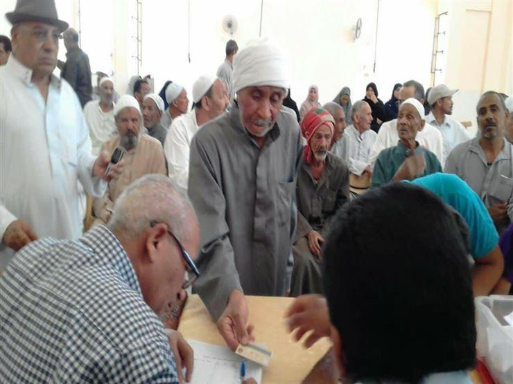 قرعة لتسليم 69 وحدة سكنية لمتضرري قرية القصر الإسلامية بالوادي الجديد