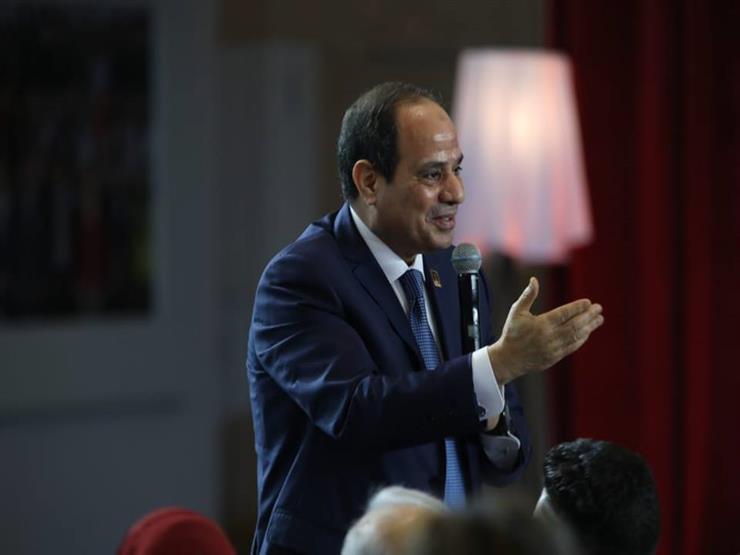 """انطلاق فعاليات جلسة """"اسأل الرئيس"""" بالمؤتمر الوطني للشباب"""