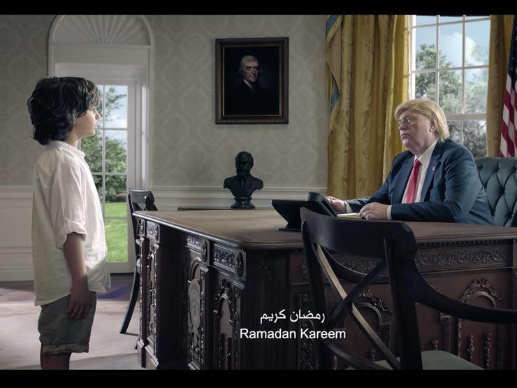 """""""بالفيديو- شبيه """"بوتين"""" و""""ترامب"""" وزعيم كوريا الشمالية في إعلان ل""""رمضان"""