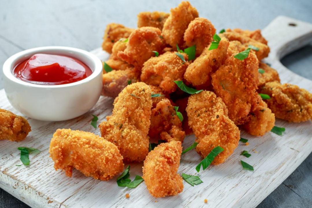 dd69bd29f ناجتس الدجاج المخبوز.. مقبلات لذيذة وصحية   الكونسلتو