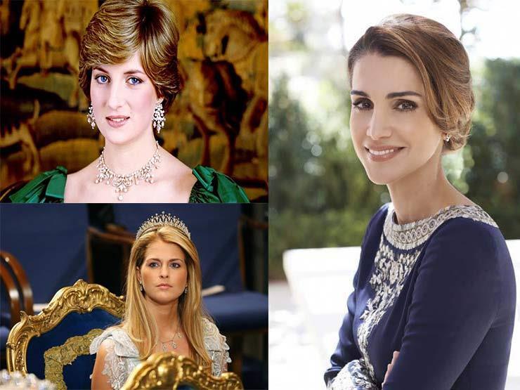 بالصور- أميرات سحرن العالم بجمالهن وأعمالهن الخيرية.. بينهن عربيات