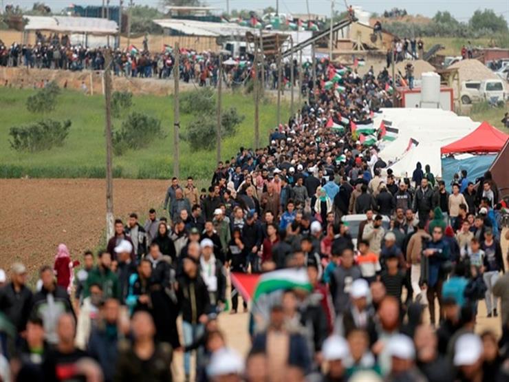 إحصائية رسمية: مقتل 112 منذ بدء مسيرات العودة في قطاع غزة ...مصراوى