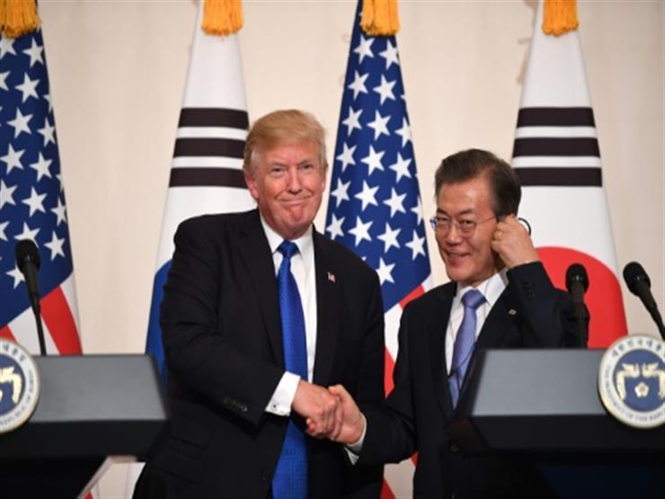 الرئيسان الكوري الجنوبي والأمريكي يعقدان محادثات هاتفية قبيل القمة مع كوريا الشمالية