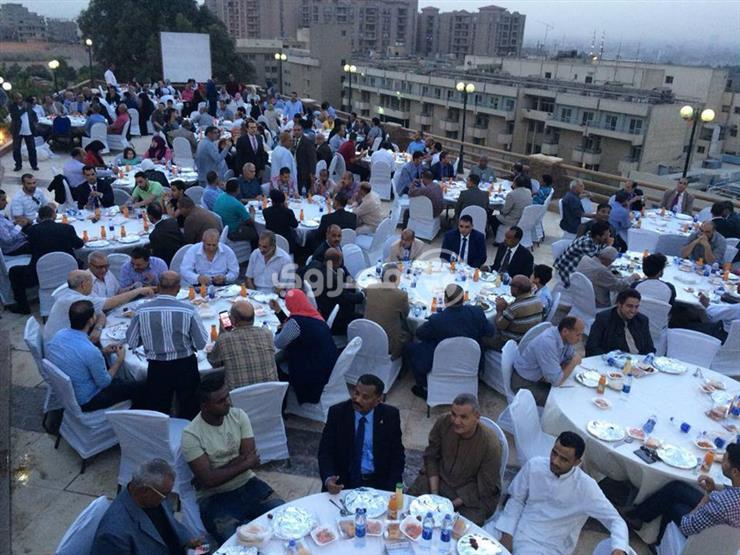 بحضور محلب وعيسوي ولبيب.. 22 صورة من حفل إفطار مصطفى بكري في...مصراوى
