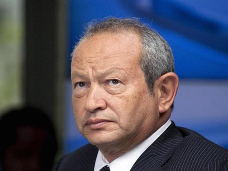 ساويرس يساند المنتخب في روسيا ويعلق على هزيمة الفراعنة