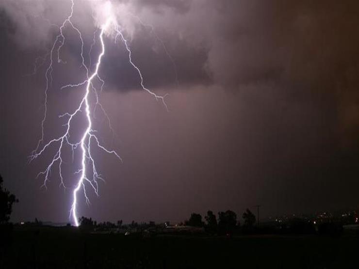 أمطار رعدية على مدن شمال سيناء