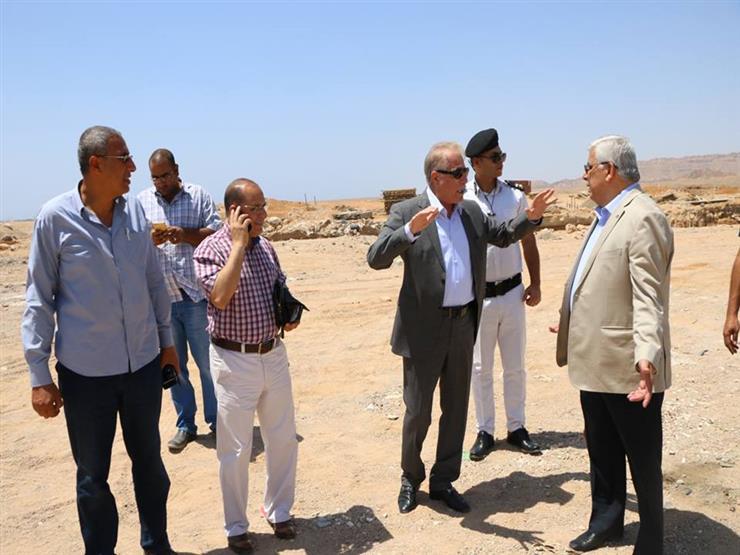 محافظ جنوب سيناء يطالب بسرعة تنفيذ مشروعات شرم الشيخ...مصراوى