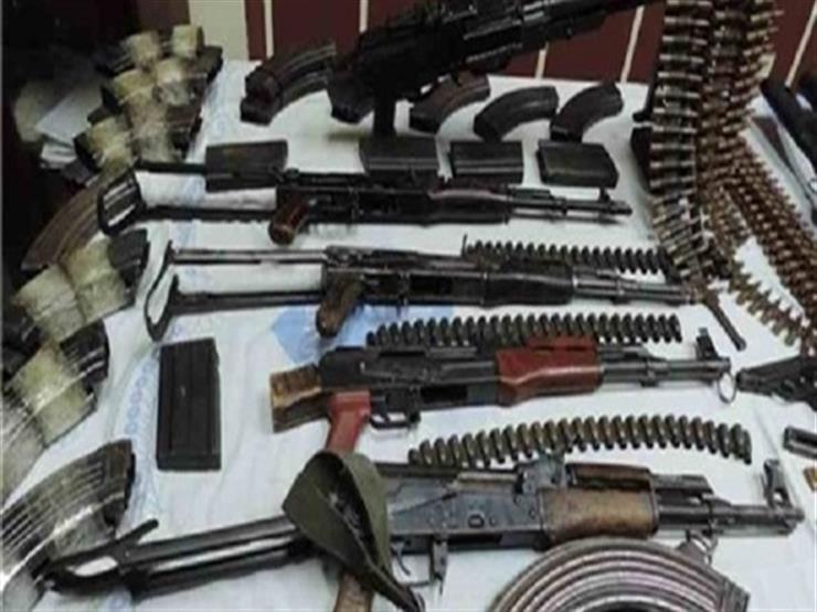 أمن الجيزة يطارد مروجي المخدرات وحائزي السلاح