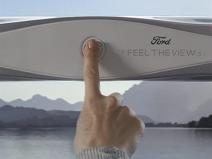 """""""فورد"""" تبتكر جهازا يساعد المكفوفين على استشعار المناظر عبر زجاج السيارة (فيديو)"""