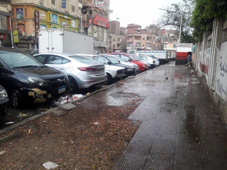 هطول أمطار كثيفة على مناطق متفرقة في الدقهلية