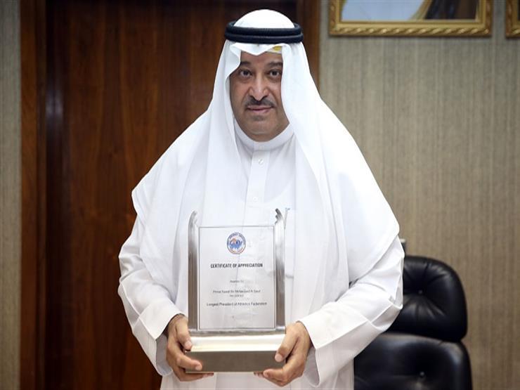 مجلس وزراء الشباب والرياضة العرب يكرم نواف بن محمد