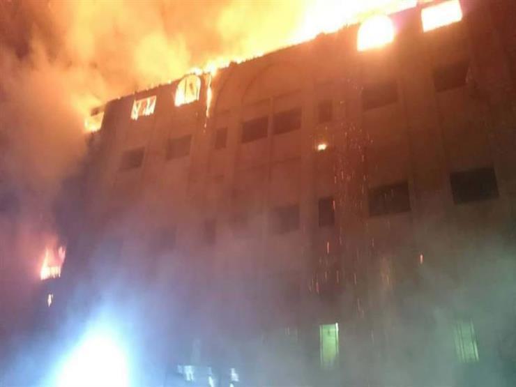 مصدر يكشف تفاصيل حريق مبنى ملحق بكنيسة التعاون في فيصل