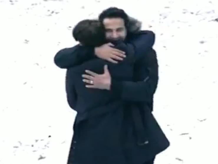 كريم فهمي يستقبل مقلب رامز بروح رياضية -فيديو