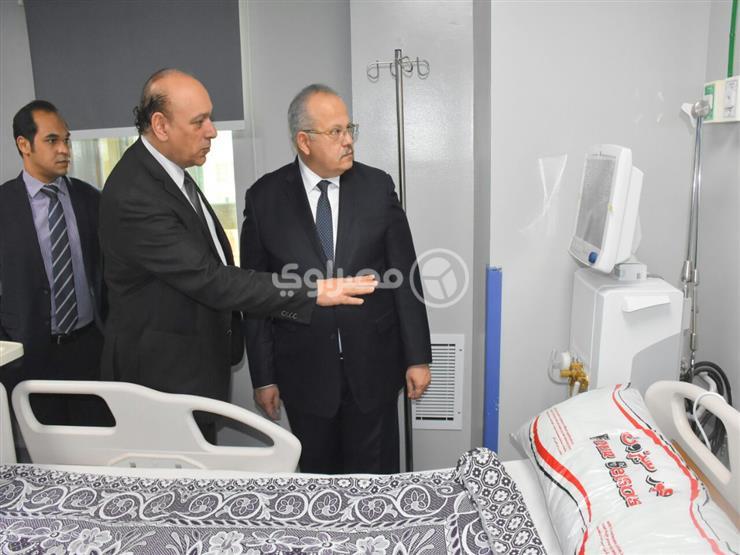 رئيس جامعة القاهرة: وحدة علاج الحروق نقلة مهمة في المستشفيات...مصراوى