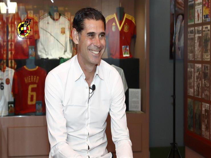 رسمياً.. فيرناندو هييرو يتولى تدريب المنتخب الإسباني خلفاً للوبتيجي