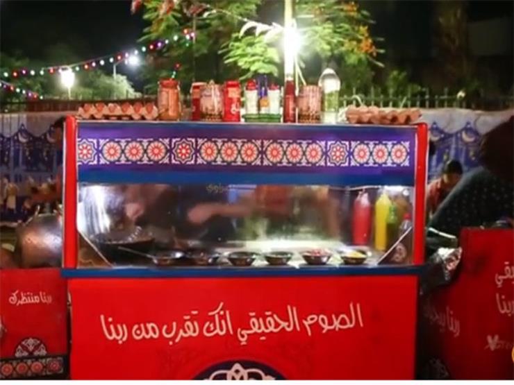 """علي عربية سحور """"ينفع نفرح"""": كل واعمل خير"""