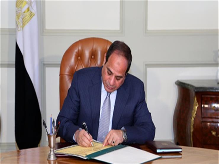 السيسي يوقع اعتماد الحساب الختامي لموازنة 2016-2017