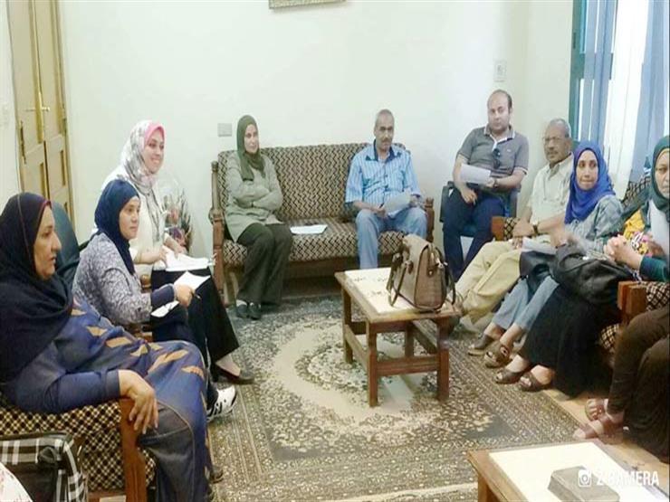 """""""القومي للمرأة"""" بالمنيا يناقش توزيع 2285 شهادة """"أمان"""""""
