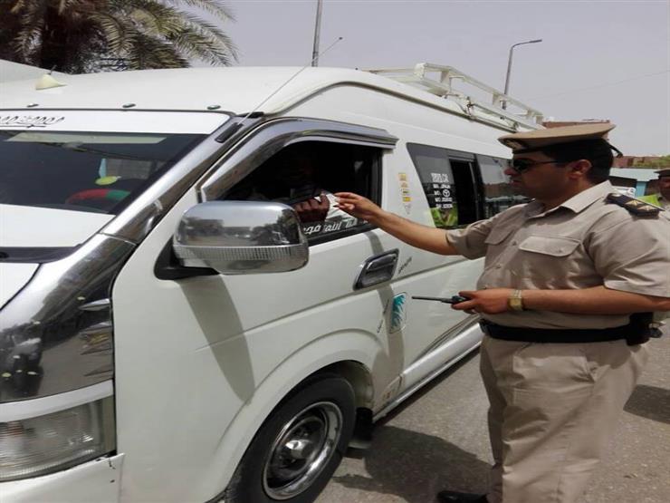16% من السائقين الذين تعرضوا للكشف في حملة أمنية بأسوان يتعا...مصراوى