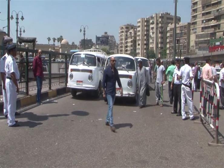 مدير أمن القاهرة يتفقد المواقف للتأكد من تطبيق التعريفة الجديدة