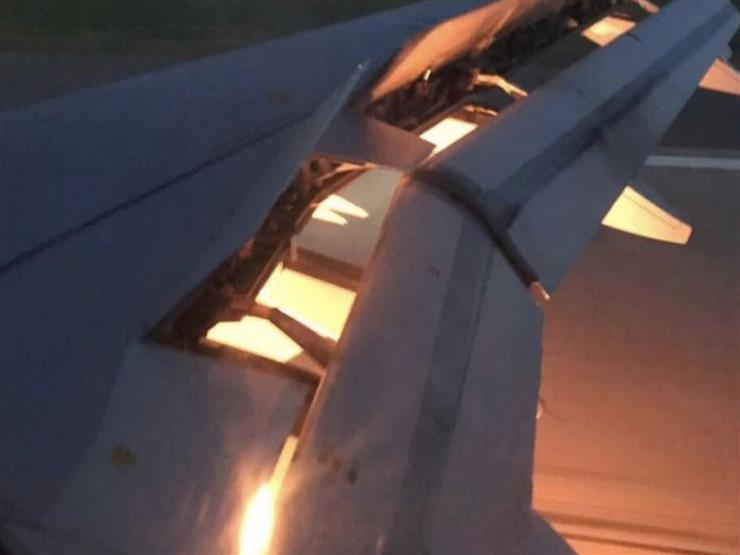 بالفيديو.. حريق بسيط في طائرة السعودية أثناء السفر للقاء أوروجواي