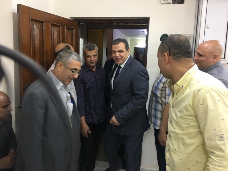وزير القوى العاملة يتفقد الانتخابات بمقر نقابة العاملين بالم...مصراوى