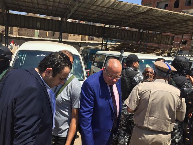 بالصور- مدير أمن القليوبية يشن حملة على المواقف ومستودعات ال...مصراوى