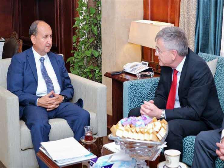 وزير الصناعة يبحث مع سفير  ألمانيا سبل جذب استثمارات أوروبية لمصر