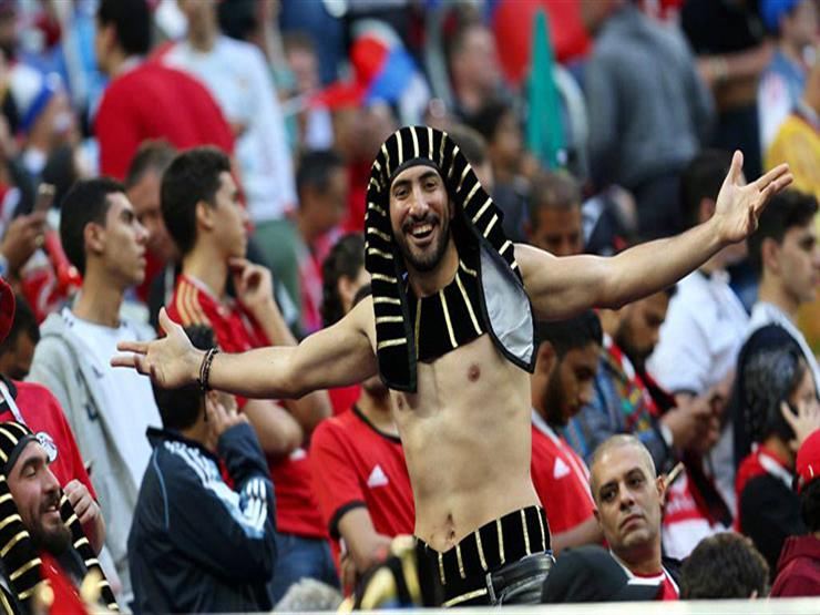 على الحلوة والمرة .. استعدادات مشجعين في روسيا لمباراة مصر ...مصراوى