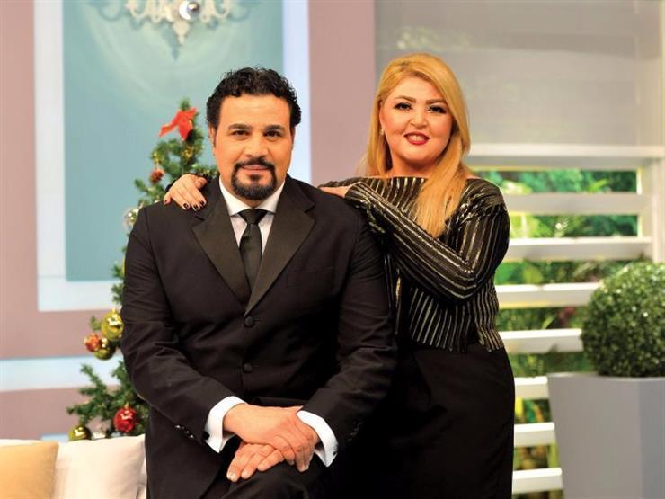 في عيد ميلادها ..مجدي كامل يوجه رسالة رومانسية لمها أحمد