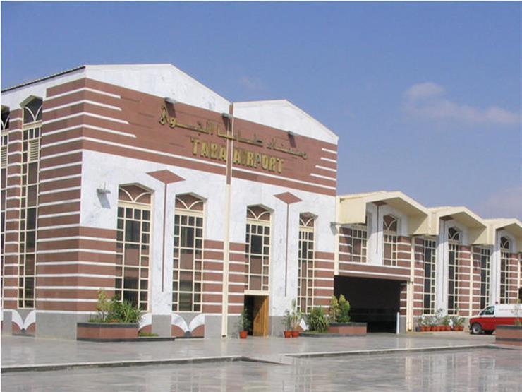إجراءات احترازية مكثفة في مطار طابا استعدادًا لعودة الرحلات السياحية