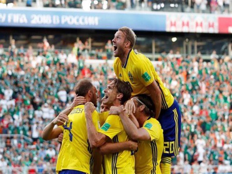 صور.. إنذار حريق يُعكر استعدادات لاعبي السويد لمباراة إنجلترا