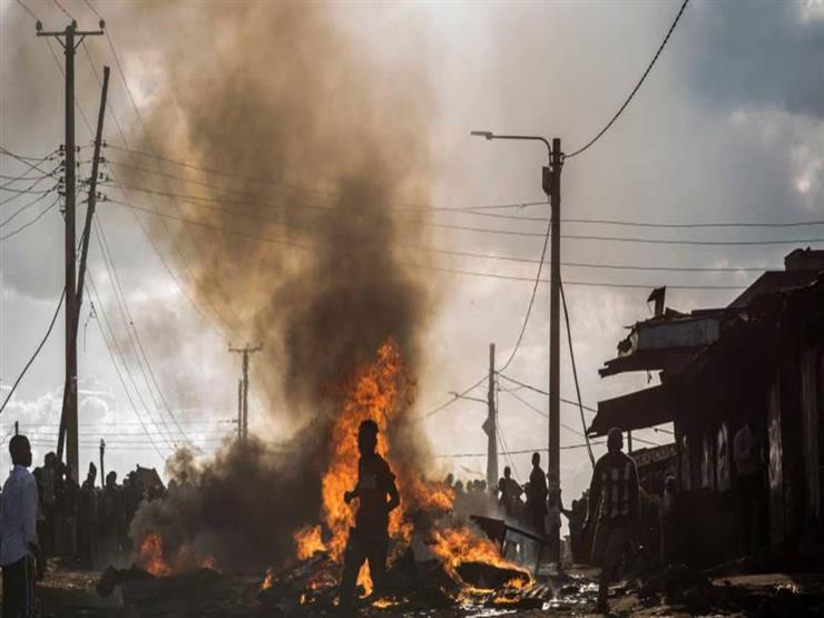 مقتل 15 شخصا في حريق بسوق في نيروبي