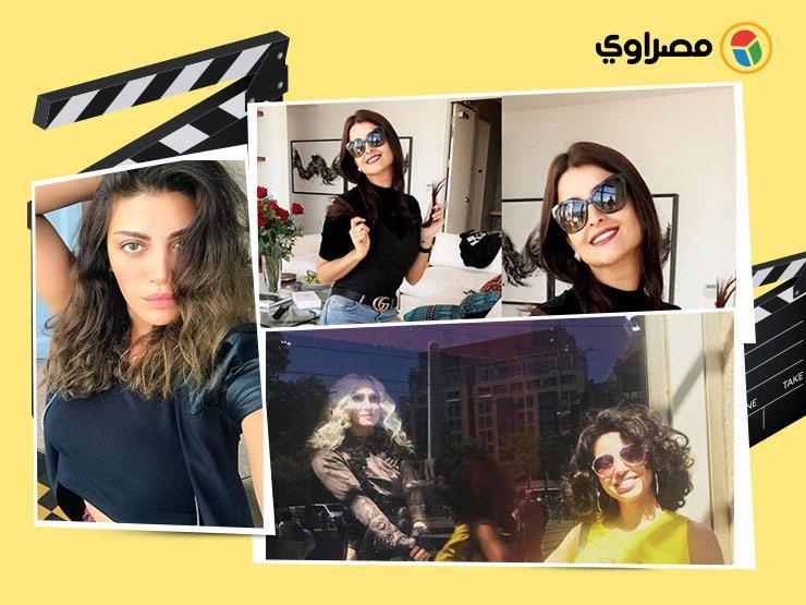 منة شلبي تحتفل بعيد ميلاد تامر حبيب ونسرين أمين برفقة مادونا...مصراوى